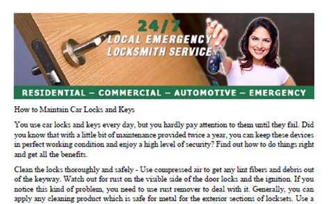 How to Maintain Car Locks and Keys in Poway - Click to download